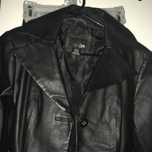 East 5th leather jacket
